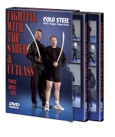 DVD Cold Steel Fighting with the saber and cutlass saber, cutlass, tehnici, antrenamente, autoaparare