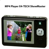 MP4 pentru camere video spion Player X4-TECH ShowMaster (sau pt Yukon Ranger)