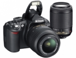 Camera	 D3100 Double Zoom Kit Nikon