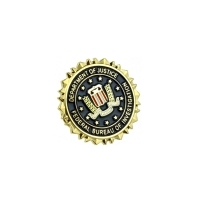 Insigna FBI Department of Justice
