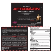 Supliment energizant - Mike Chang's Afterburn Pre-Workout Fuel