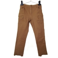 Pantaloni tactici 97% bumbac 3% spandex, coyote brown