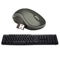 Set tastatura si mouse Wireless Logitech K270 & M185