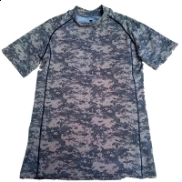 Tricou camuflaj digital urban XL