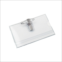 Port legitimatie plastic transparent 6.2cmx9cm