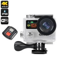Action camera TTG Fury 4K ULTRA HD submersibila IP68