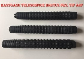 Baston telescopic Brutus PKS50 otel-carbon, tip ASP, 50cm