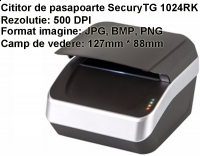 Scanner / Cititor de pasapoarte SecuryTG 1024RK scaner, cititor-, acte, documente, uv, ir