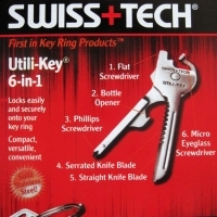 Breloc multifunctional UTILI-KEY 6 in 1